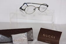 """""""PAOLO GUCCI"""" Designer Ophthalmic Spectacle Frames.  new in case"""