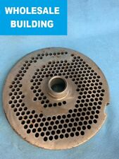 Uknown Brand Meat Grinder Plate Threaded Hub Tpmc0002 38 Hole 11 Od
