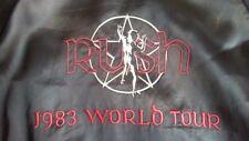 RUSH 1983 World Tour Satin Jacket