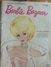 Barbie Bazaar Magazine Back Issue October 1988 Official Collectors MINT