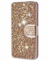 Bling Rhinestone Diamond Leather Flip Wallet Case Cover samsung galaxy S8 plus