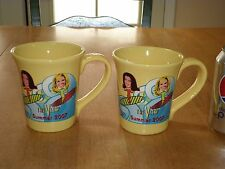 TELEVISION TALK SHOW - THE VIEW, Large Size Ceramic Coffee Mugs, TOTAL OF # 2