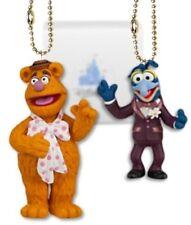 "Disney Muppets 4"" Fozzy & 3"" Gonzo 2-Piece PVC Figure Key Chain Dangler Toy Set"