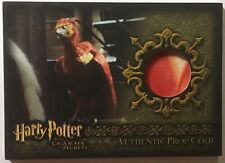 Fawkes Feather P4 021/140 Prop Card Harry Potter Chamber Secrets CoS Rare Low No
