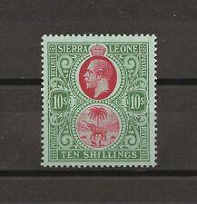 SIERRA LEONE 1912-21 SG 127A MNH Cat £150
