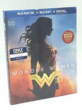 Wonder Woman 3D (Blu-ray 3D+Blu-ray+Digital, 2017; Only @ Best Buy) w/ Slipcover