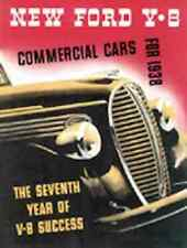 1938 Ford Truck & Commercial Car Sales Brochure