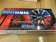 Aoshima 055182 1/24 Tuned Parts 84 Brw Profile 09 Mag 20inch Tire & Wheel Set