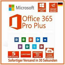 Microsoft Office 365 für 5PC ✔ 5MAC ✔✔ KEIN Abo ✔ MSOffice 2019 ✔ DAUERHAFT