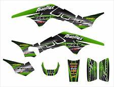 TRX250R Graphics TRX 250R 250 R racing deco sticker kit #3333 Green