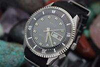 Vintage EMIT De Luxe Swiss Made Compressor Style 42mm Men's Diver's Watch