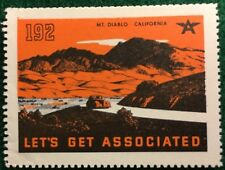 #192 Mt. Diablo - California - Let's Get Associated Flying A Gas & Oil Company