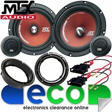 "VW Passat B5 1996-2005 MTX 6.5"" 480 Watts Front Door Component Kit Car Speakers"