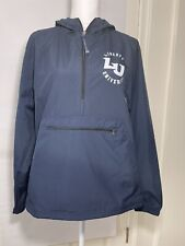 Liberty University LU Charles River Apparel Blue Pullover 1/4 Zip Windbreaker SM