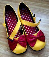Disney Authentic Minnie Mouse Women's Costume Shoes Size 8