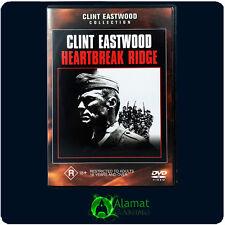 Heartbreak Ridge (DVD) Clint Eastwood - Marsha Mason - Drama - Action - Region 4
