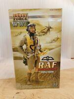 """Blue Box Elite Force RAF Donald Moore 1/6 12"""" Action Figure Flight Lieutenant"""