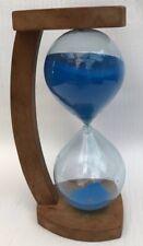 More details for vintage1960's mid century modern sand hourglass timer decorative defect  flow