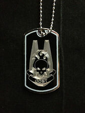 Halo ODST Symbol Dog Tag Necklace Video Game Handmade halo dog tags odst