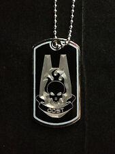 Halo ODST Symbol Dog Tag Necklace Video Game Handmade halo dog tags odst