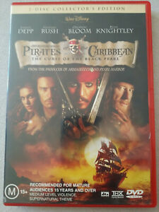 2 Disc Collector's Edition Pirates Of The Caribbean The Curse Of The Black Pearl