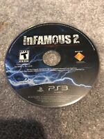 inFamous 2 (Sony PlayStation 3, 2011) Working Game Only