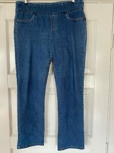 """Womens STRETCH KATIES """"PULL ON"""" JEANS SIZE 12"""