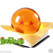 "Dragon Ball DragonBall Z Crystal Ball 2 Stars Diameter 3""/7.5cm Ball New in Box"