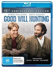 Good Will Hunting (Blu-ray)New & Sealed~15th Anniversary Edition *Fast Shipping