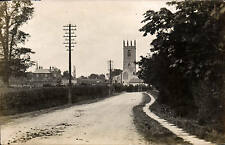 Sturton le Steeple # 12. Road & Church