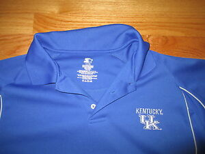 Starter KENTUCKY WILDCATS Embroidered (LG) Polo Shirt