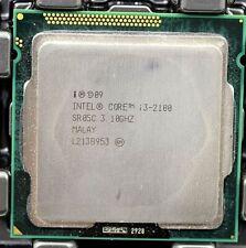 Lot (3) Intel i3-2100 2nd Gen. (SR05C) Dual-Core, 3.1GHz, 3MB, LGA1155 CPU