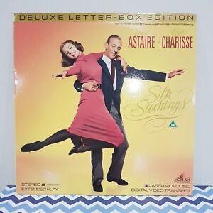 Silk Stockings Laser Video Disc, Starring Fred Astaire