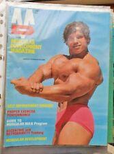 Arnold Schwarzenegger muscular development 1972