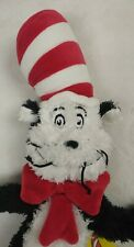 "Dr. Seuss Cat in The Hat 20"" Plush Toy w/ Tag. Manhattan Toy Co. 2018"