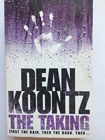 The Taking By Dean Koontz, Paperback Book, Horror Fiction