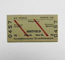 More details for british railways withyham to hartfield rail ticket br 1966
