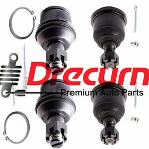4PC Front Upper & Lower Ball Joint SET for Dodge Ram 1500 2500 3500 4WD