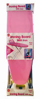 GIRLS KIDS 2 PC IRONING BOARD METAL LEGS PLUS IRON PRETEND ROLE PLAY TOY GIFT