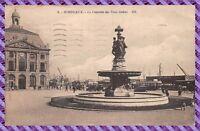 Carte Postale - BORDEAUX - la fontaine des trois graces