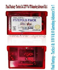 Final Fantasy - Ff Tactics I & Ii Iv V Vi Gameboy Advance 5 In 1 Multicart Gba