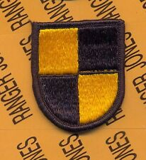US Army ROTC BOLD CHALLENGE beret flash patch type II m/e