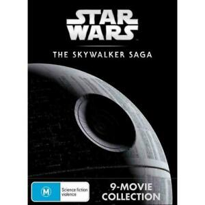 Star Wars - The Skywalker Saga Complete 9 Movies : NEW DVD