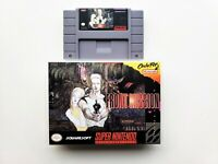 Front Mission Game / Case Mech Strategy SNES Super Nintendo (English Translated)
