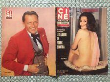Ciné Revue n 15 1971 Katia Bagarry Frank Sinatra Anne Marie Luneau Charles Vanel