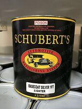 Schuberts 4LT Toyota 1F7 Silver Metallic Pre-Mixed, Basecoat Automotive Paint.