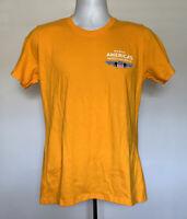 Union Pacific Railroad North Americas Safest T Shirt Mens Small Yellow UPRR