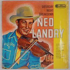 NED LANDRY: Saturday Night Breakdown RCA Camden Bluegrass '63 Canada Fiddle LP