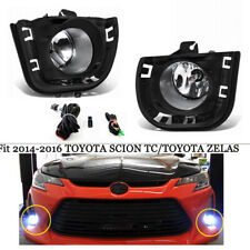 Complete Fog Lights Kit For 2014 2015 2016 Scion tC Zelas (w/switch+wiring)