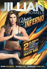 Yoga Exercise DVD - JILLIAN MICHAELS Yoga Inferno - 2 Workouts!